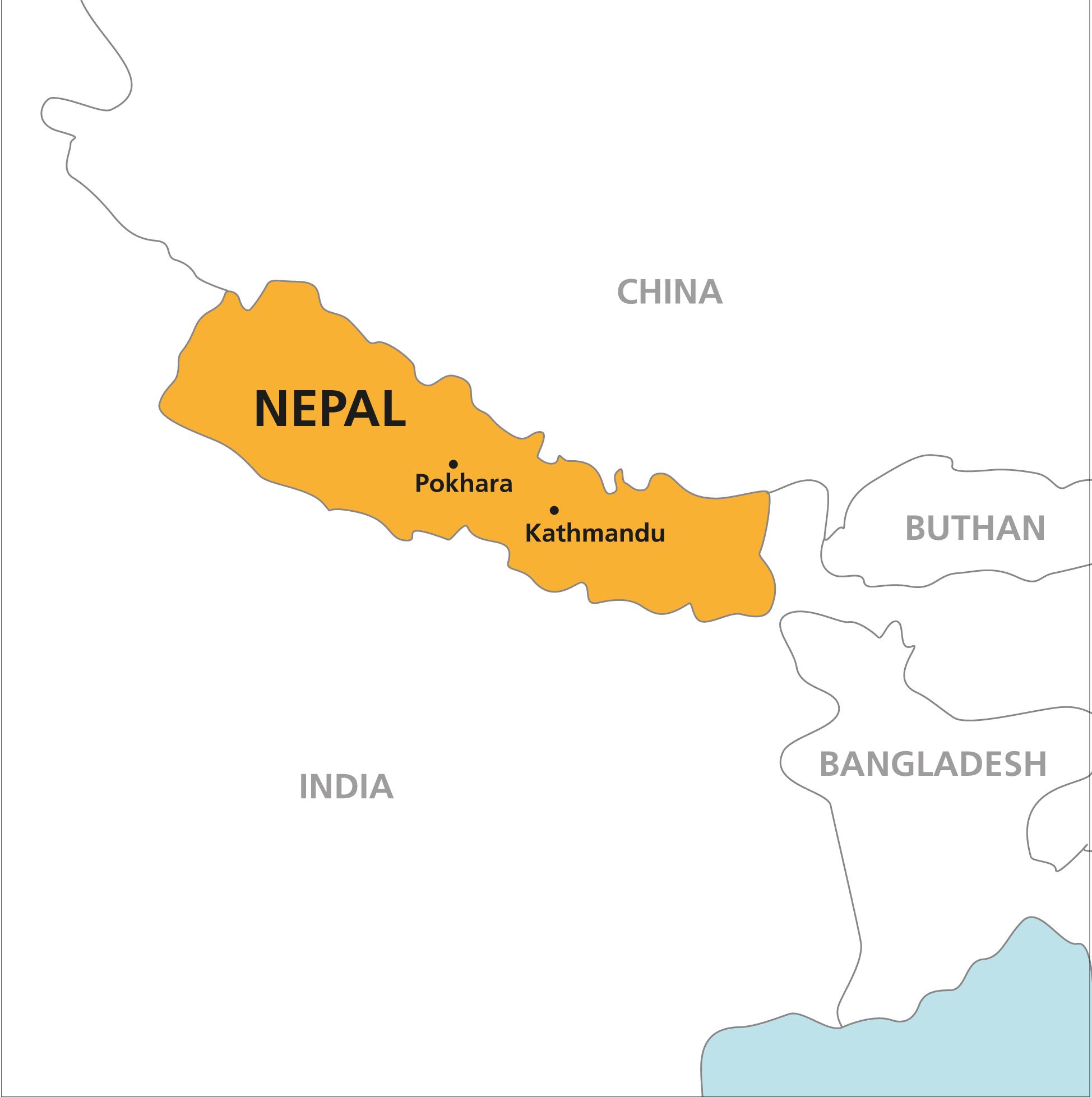 nepal kart Nepal   Kulturstudier nepal kart